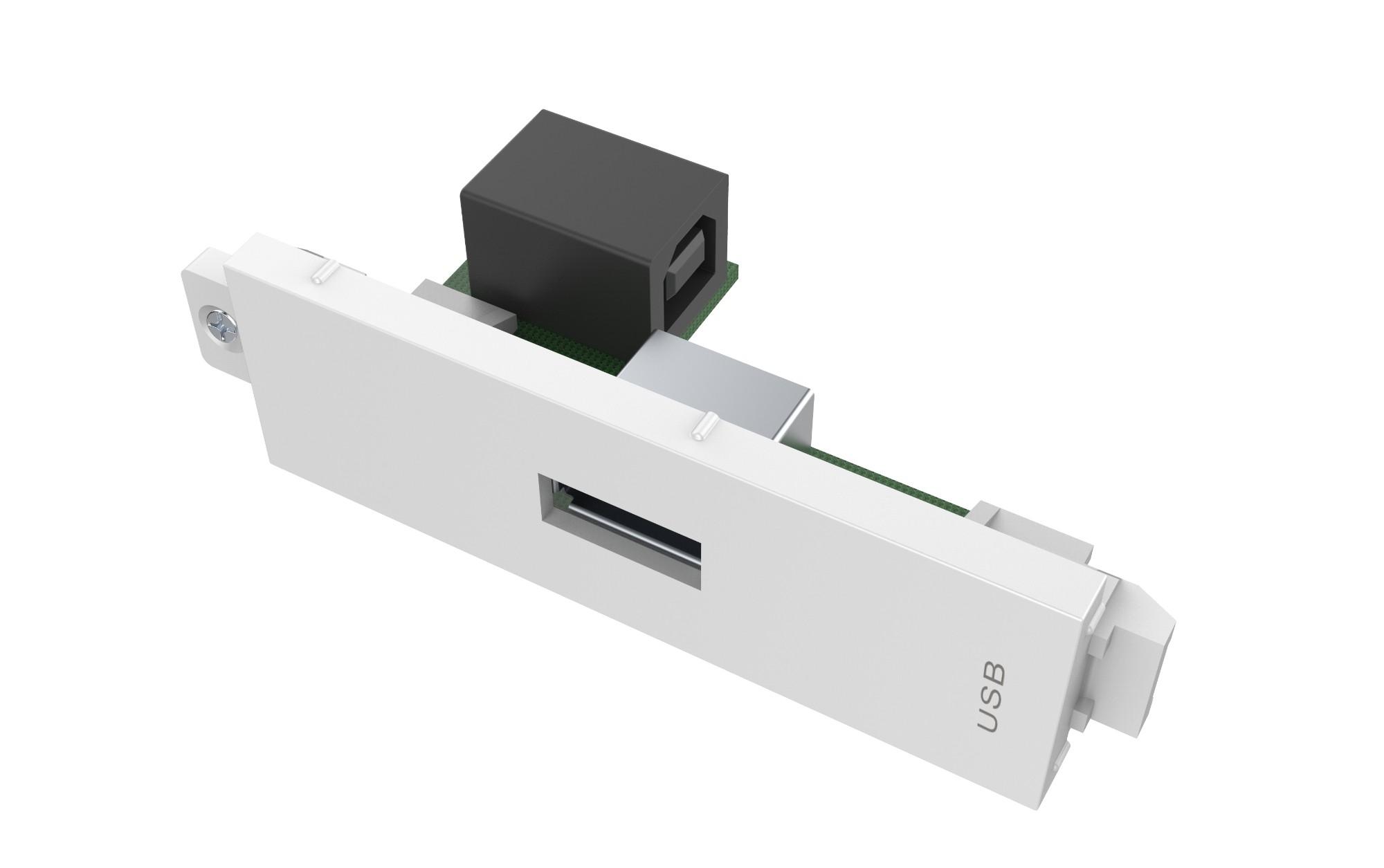 Vision TC3 USBA toma de corriente USB Blanco
