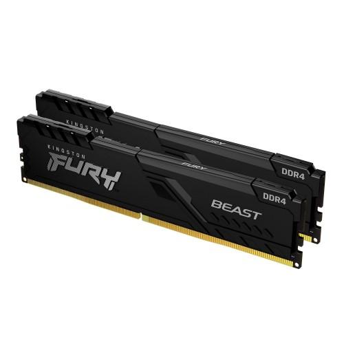 Kingston Technology FURY Beast memory module 16 GB 2 x 8 GB DDR4 3600 MHz