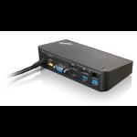 Lenovo 40A40090DK USB 3.0 (3.1 Gen 1) Type-A Black notebook dock/port replicator