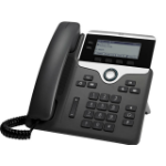 Cisco 7811 IP phone Black, Silver 1 lines LED
