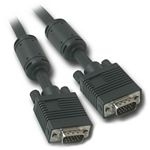 C2G 0.5m Monitor HD15 M/M cable VGA cable VGA (D-Sub) Black