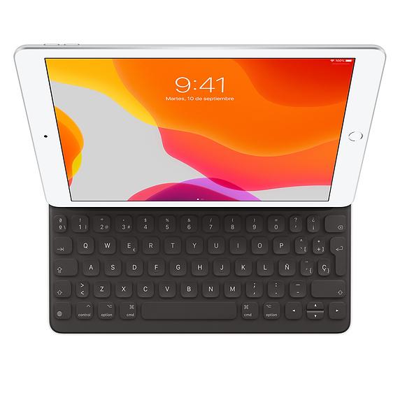 Apple MX3L2Y/A teclado para móvil QWERTY Español Negro Smart Connector