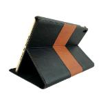"""NVS Apollo Multiview Folio for iPad Pro 10.5"""" - Black/Tan"""