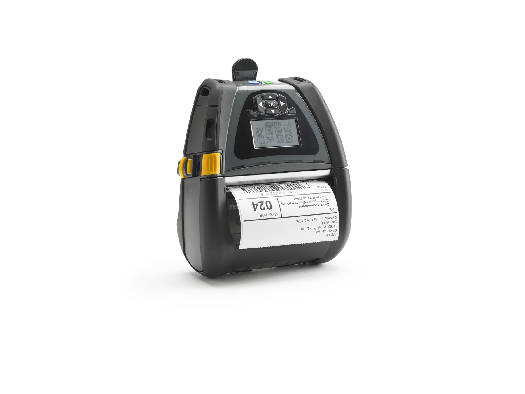 Zebra QLn420 Direct thermisch Mobiele printer 203 x 203 DPI