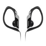 Panasonic RP-HS34PP Gancho de oreja Biauricular Alámbrico Negro auricular para móvil
