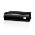 Western Digital 1TB My Book AV-TV external hard drive 1000 GB Black
