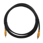 Kramer Electronics Composite Cable 0.9m composite video cable RCA Grey