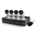 Swann SWNVK-873004-UK 8 Channel 3MP Network Video Recorder and 4 x NHD-815 3MP Cameras 2TB HDD