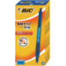 BIC 8373982 Clip-on retractable ballpoint pen Blue 12pc(s) ballpoint pen