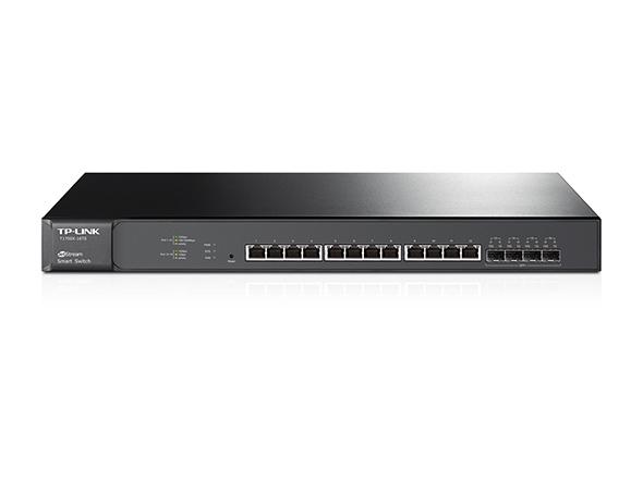 TP-LINK JetStream L2+ 10G Ethernet (100/1000/10000) 1U Black