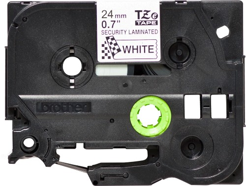 Brother TZE-SE5 label-making tape Black on white TZ/TZe