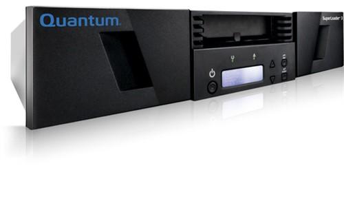 Quantum SuperLoader 3 tape auto loader/library 192000 GB 2U Black