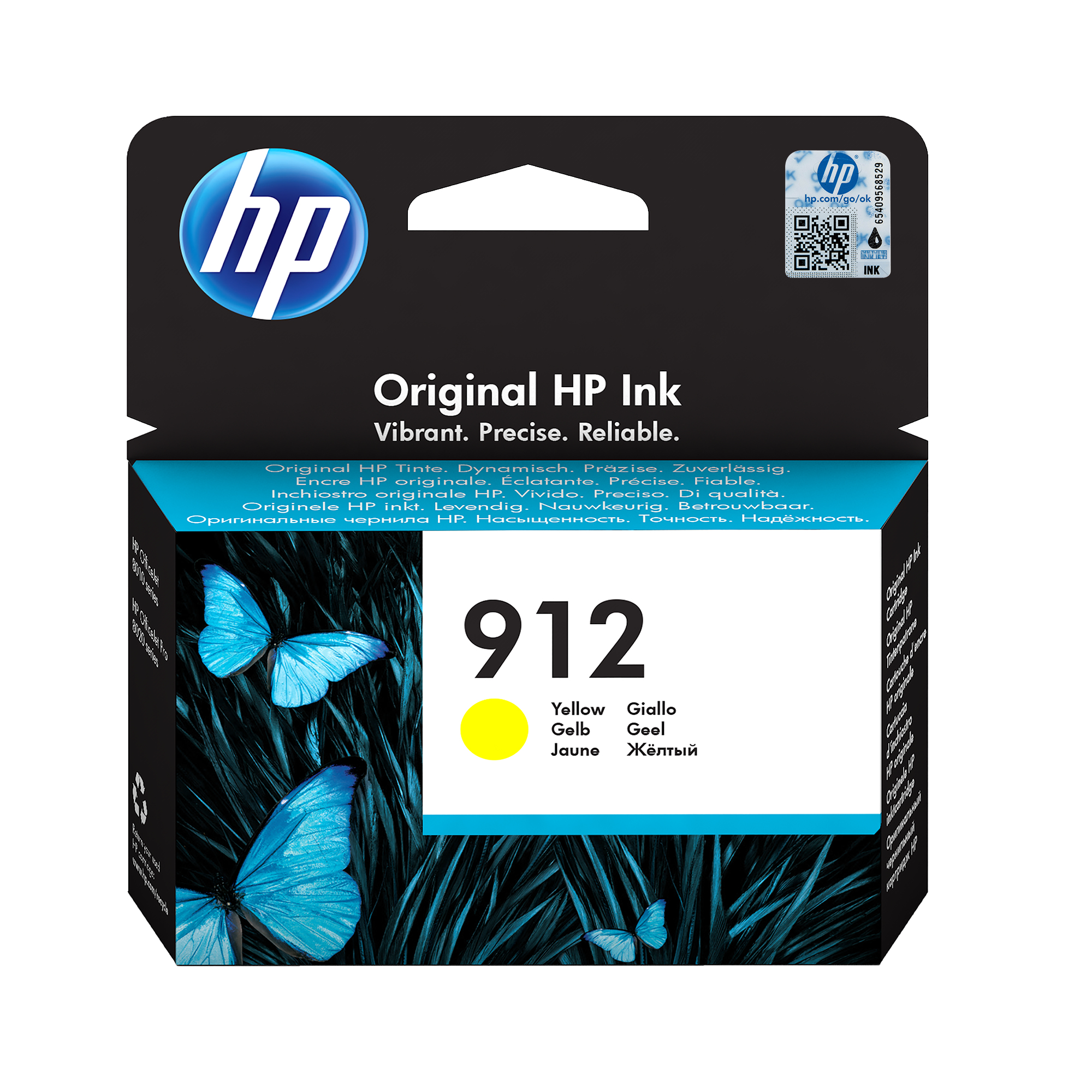 HP 3YL79AE (912) Ink cartridge yellow, 315 pages