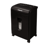 Fellowes Powershred 62MC paper shredder Micro-cut shredding 23 cm Black