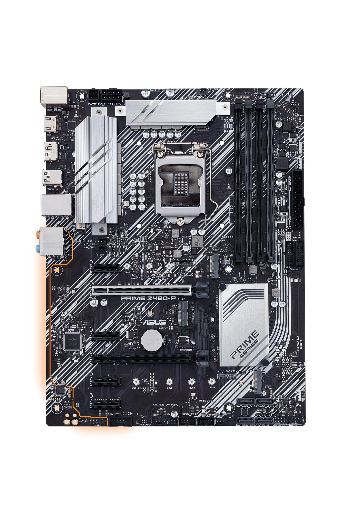 ASUS PRIME Z490-P S1200 Z490/2x M.2/DP-HDMI/ATX