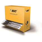 BIC Cristal Medium Stick ballpoint pen Medium Black 100pc(s)