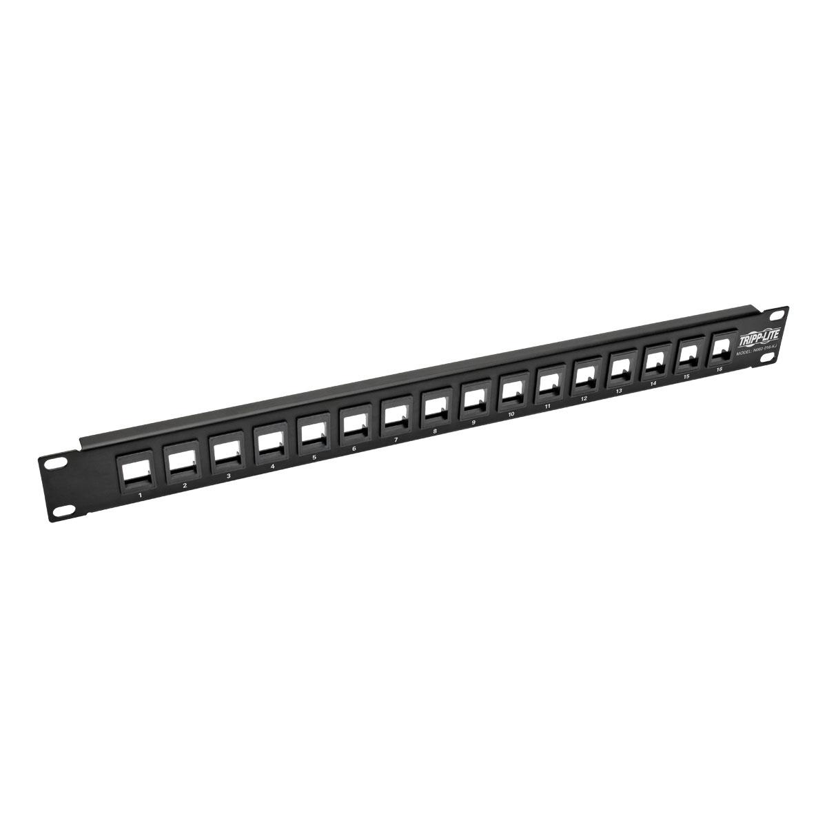 Tripp Lite N062-016-KJ 1U patch panel