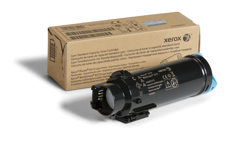 Xerox Phaser 6510 / WorkCentre 6515 Cartucho de tóner cian de capacidad estándar (1000 páginas)