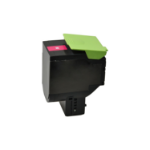 V7 Toner for selected Lexmark printers - Replacement for OEM cartridge part number 70C2HM0 V7-CS410M-HY-OV7
