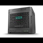 Hewlett Packard Enterprise ProLiant MicroServer Gen10 + 8GB + 1TB HDD bundle 2.1GHz X3421 200W Ultra Micro Tower server