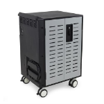 Ergotron DM40-1009-4 Portable device management cart Black, Grey
