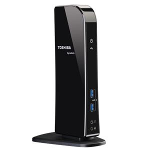 Toshiba Dynadock U3 USB 3.0 (3.1 Gen 1) Type-A Black