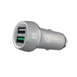 ifrogz Qualcomm Quick Charge 3.0 Auto Zilver