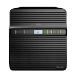 Synology DS418J 32TB (4 x 8TB SEAGATE IronWolf HDD) Desktop Ethernet LAN Black