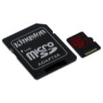 Kingston Technology microSDHC/SDXC UHS-I U3 64GB 64GB MicroSDXC UHS Class 3 memory card