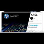 HP 655A Original Black 1 pc(s)