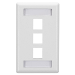Black Box WPT470 wall plate/switch cover White
