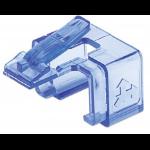 Intellinet RJ45 Repair Clip, For RJ45 modular plug, Transparent Blue, 50 pack