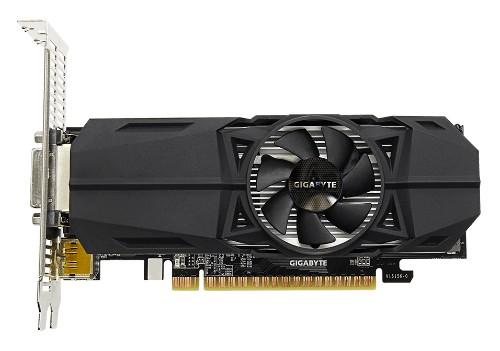 Gigabyte GeForce GTX 1050 Ti OC Low Profile 4G 4 GB GDDR5