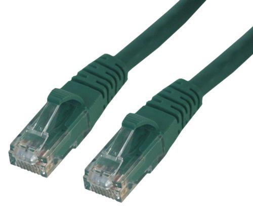 MCL RJ45 CAT6 A U/UTP 1m cable de red Verde