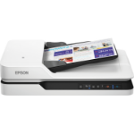 Epson WorkForce DS-1660W 600 x 600 DPI Flatbed scanner Black,White A4