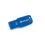Verbatim Ergo USB flash drive 64 GB USB Type-A 3.2 Gen 1 (3.1 Gen 1) Blue