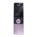 Yealink SIP-W56H DECT telephone handset Caller ID Black, Silver