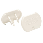 Tripp Lite HGOUTLETCVR socket safety cover White