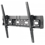 "Manhattan Monitor/TV Wall Mount (tiltable), 1 screen, 37-70"", Vesa 200x200 to 600x400mm, Max 35kg, With internal media storage area, Black"