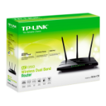 TP-LINK Archer C59 wireless router Dual-band (2.4 GHz / 5 GHz) Fast Ethernet Black
