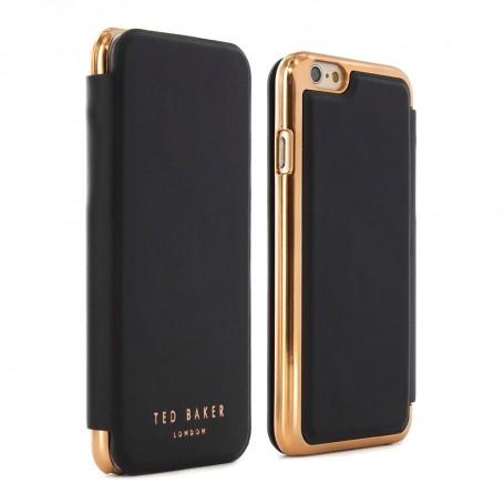 """Proporta Shannon mobile phone case 11.9 cm (4.7"""") Folio Black,Gold"""