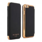 """Proporta Shannon mobile phone case 11.9 cm (4.7"""") Folio Black, Gold"""