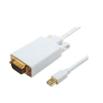 Microconnect MDPVGA5W 3m Mini DisplayPort VGA (D-Sub) White video cable adapter