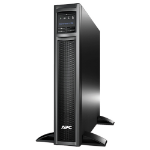 APC Smart-UPS Line-Interactive 750VA 8AC outlet(s) Rackmount/Tower Black uninterruptible power supply (UPS)