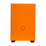 Cooler Master MasterBox NR200P Small Form Factor (SFF) Black, Orange
