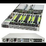 Supermicro SuperServer 1029GQ-TNRT Intel® C621 LGA 3647 (Socket P) Rack (1U) Black