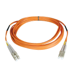 Tripp Lite Duplex Multimode 62.5/125 Fiber Patch Cable (LC/LC), 2M