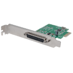Manhattan PCI Express Card, 1x Parallel DB25 port, 2.0 Mbps, IEEE 1284, x1 x4 x8 x16 lane buses, Supports EPP/ECP/SPP modes, Box
