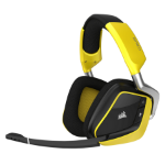 Corsair VOID PRO RGB Wireless SE Premium Binaural Head-band Yellow headset