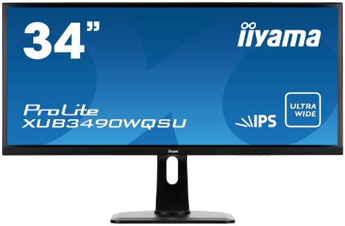 "iiyama ProLite XUB3490WQSU-B1 34"" Wide Quad HD LED Matt Flat Black computer monitor LED display"
